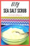 DIY Sea Salt Scrub