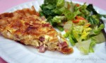 Quiche with French Fried Onions