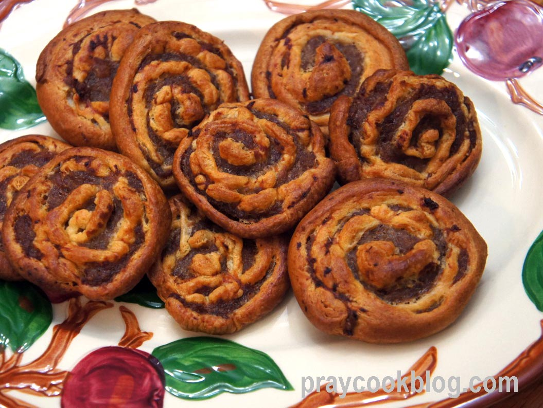 Sausage Pinwheels for Community Bible Study