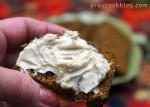 Fantastic Pumpkin Bread with Brown Sugar Cream Cheese Spread