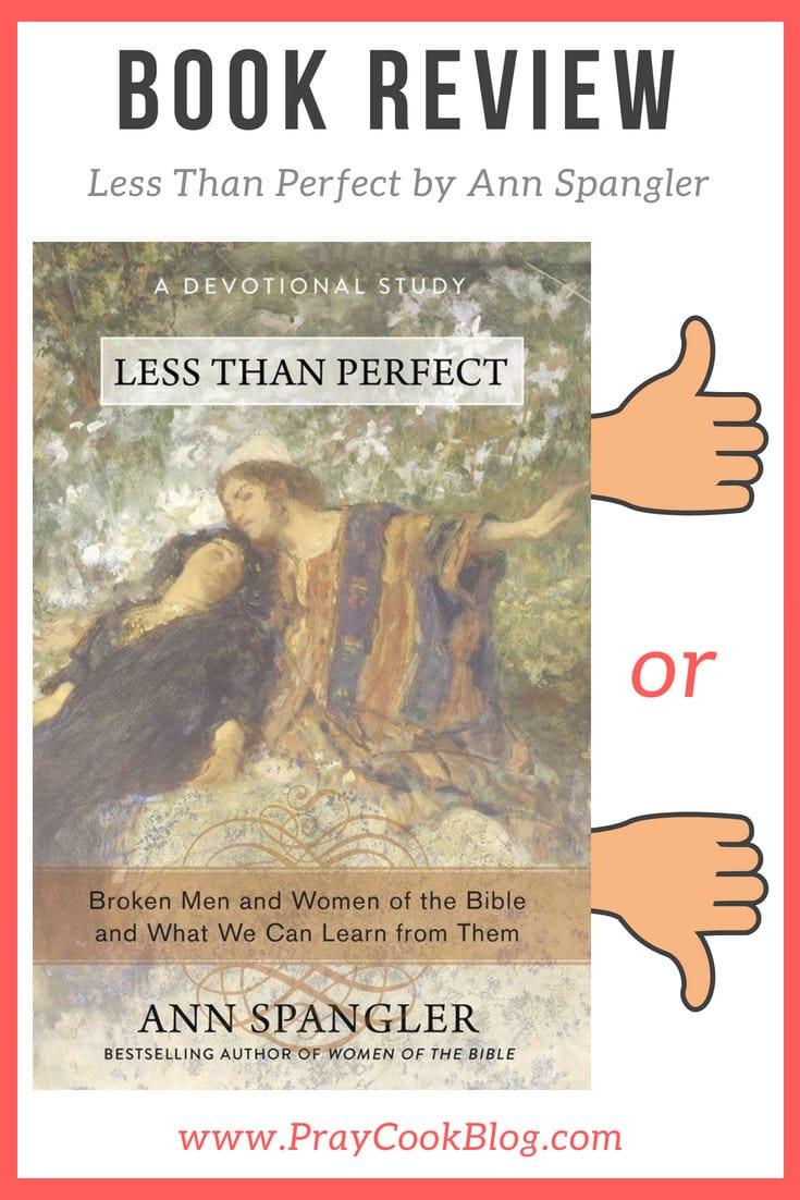 less than perfect book review ann spangler