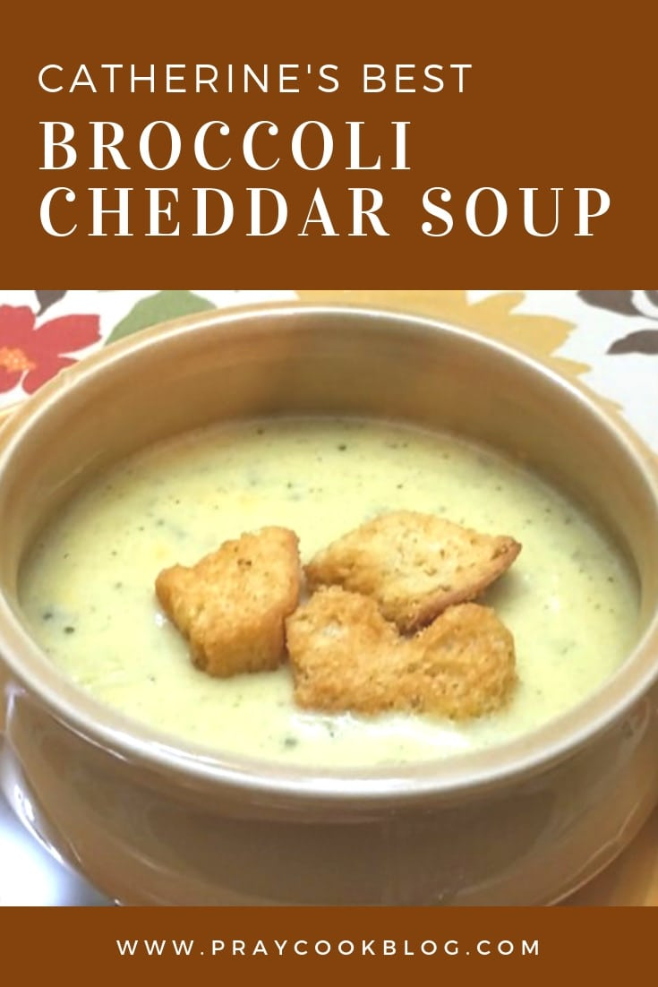best Broccoli Cheddar Soup