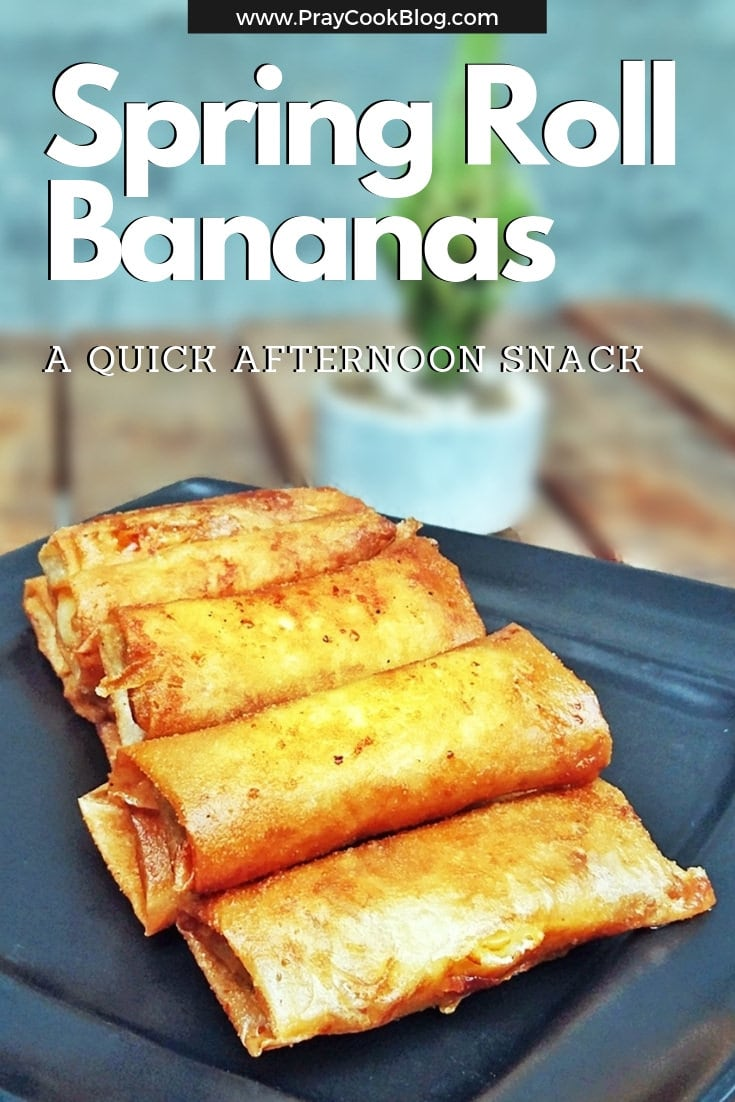 Spring Roll Banana Recipe