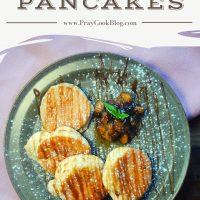 Souffle Pancakes with Caramelized Bananas